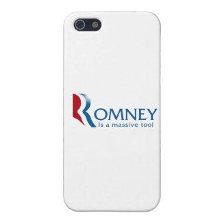 Romney es una herramienta masiva iPhone 5 protectores