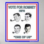¡Romney es uno de nosotros! Poster