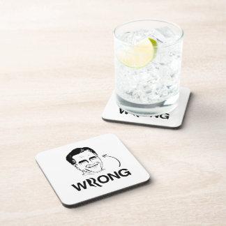 ROMNEY ES WRONG.png Posavasos De Bebida
