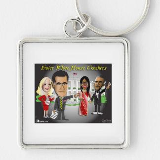 Romney Eviction Notice Keychain