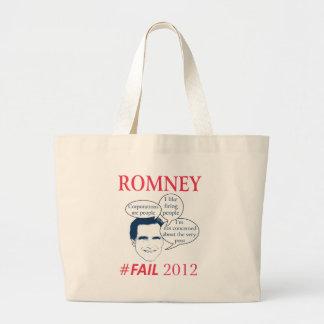 Romney Fail Tote Bag