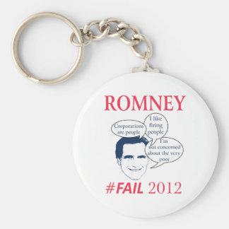 Romney Fail Key Chain