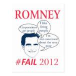 Romney Fail Postcard