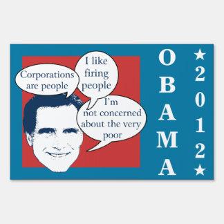 Romney Fail Yard Sign