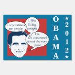 Romney Fail Yard Signs