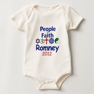 ROMNEY FAITH BABY BODYSUIT