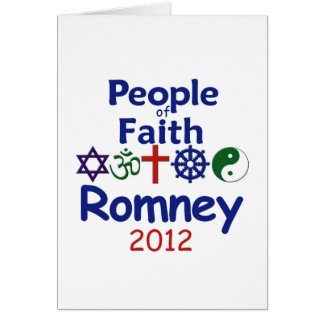 ROMNEY FAITH CARD