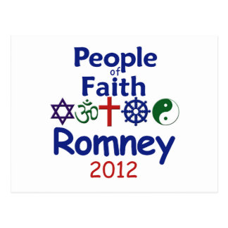 ROMNEY FAITH POSTCARD