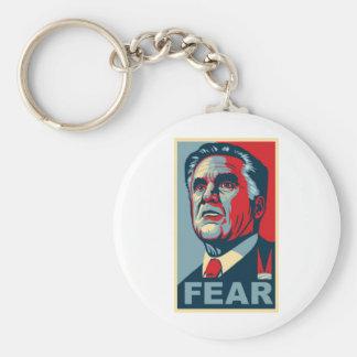 Romney - FEAR Keychain