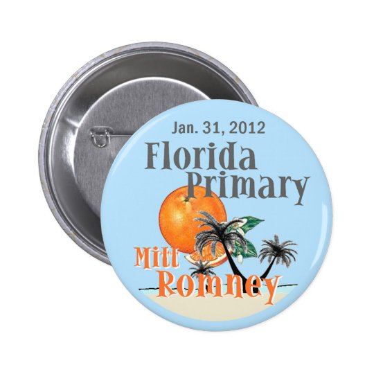Romney Florida Button