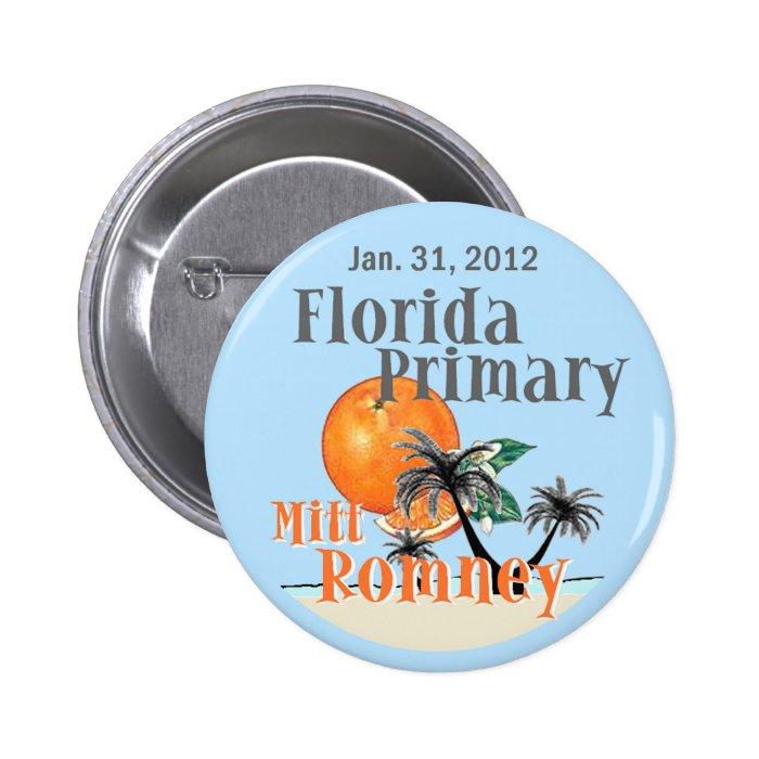 Romney Florida Button