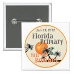Romney Florida Pinback Buttons