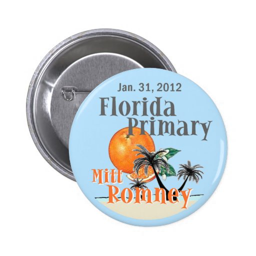Romney Florida Pins