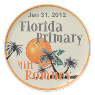 Romney Florida Plate