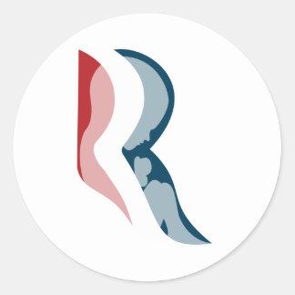 Romney for Life Round Sticker