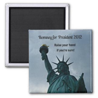 Romney for President 2012 2 Inch Square Magnet