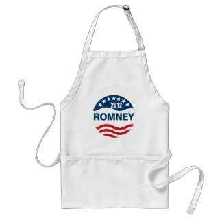 Romney for president 2012 adult apron