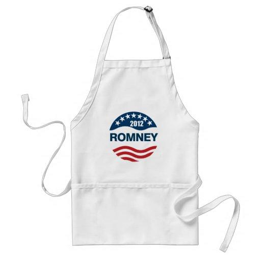 Romney for president 2012 apron