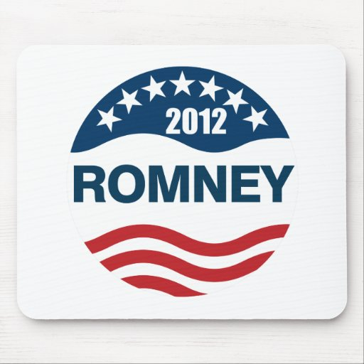 Romney for president 2012 mouse pad