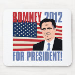 Romney for president 2012 mouse pads