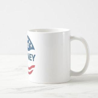 Romney for president 2012 classic white coffee mug