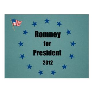 Romney for President - 2012 Postcard