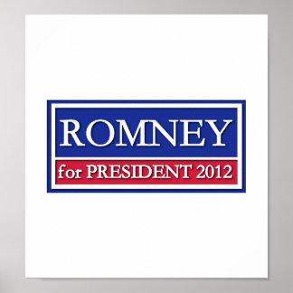Romney for President 2012 Posters