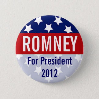 Romney for President 2012, Retro Button