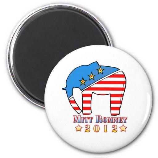 Romney for President 2 Inch Round Magnet