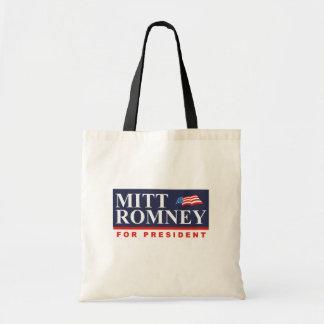 ROMNEY FOR PRESIDENT (Banner) Budget Tote Bag