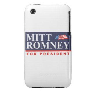 ROMNEY FOR PRESIDENT (Banner) iPhone 3 Case-Mate Case