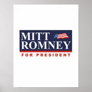 ROMNEY FOR PRESIDENT (Banner) Poster