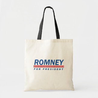 ROMNEY FOR PRESIDENT (Blue) Tote Bags
