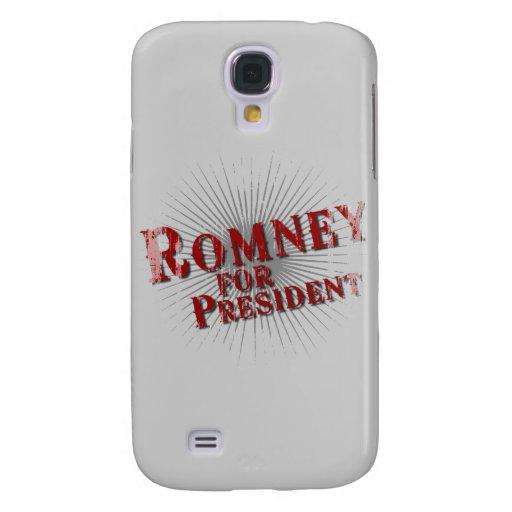 ROMNEY FOR PRESIDENT (Burst).png Galaxy S4 Case