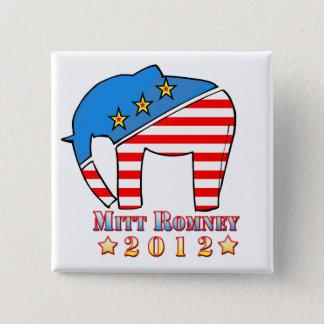 Romney for President Button