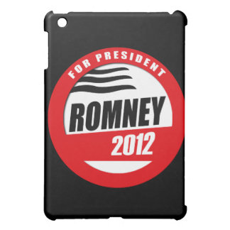 ROMNEY FOR PRESIDENT BUTTON COVER FOR THE iPad MINI