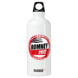 ROMNEY FOR PRESIDENT BUTTON SIGG TRAVELER 0.6L WATER BOTTLE