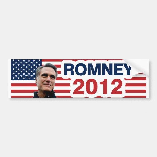 Romney for president car bumper sticker