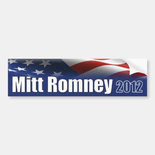 Romney for President - Election Car Bumper Sticker