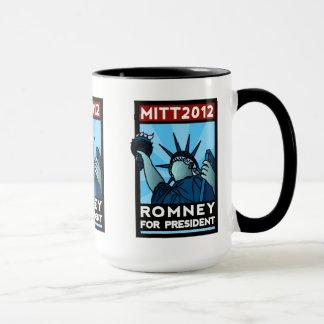 Romney for President Liberty Mug