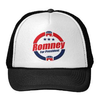 ROMNEY FOR PRESIDENT (Republican) Mesh Hats