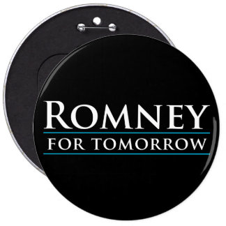 Romney For Tomorrow 2012 Button