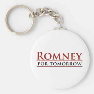 Romney For Tomorrow 2012 Keychain
