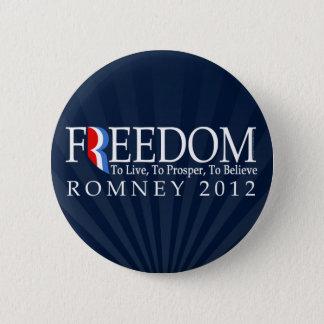 Romney Freedom Button