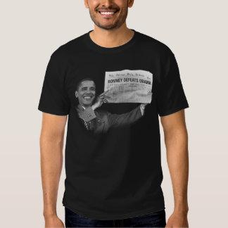 Romney gana (Truman redux) Remera