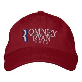 Romney/gorra bordado de Ryan 2012 Gorra De Béisbol