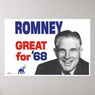 Romney--Grande para 68 Poster