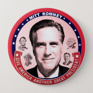 Romney & Great Presidents Button