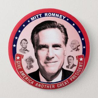 Romney & Great Presidents Button