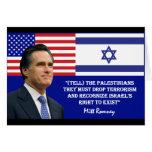 Romney habla Israel Tarjetón